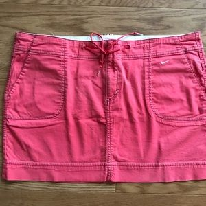 Nike Drawstring Coral Skirt Womens XL 16-18